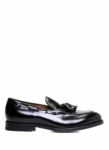 Henderson Deri Loafer Ayakkabı Siyah